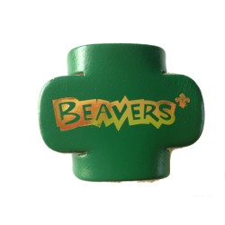 NEW Beaver Leather Woggle