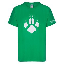 Cubs Men's Paw Logo Print T-Shirt
