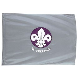Scout Network Plain Flag