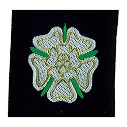 Yorkshire Rose Ribbon Badge
