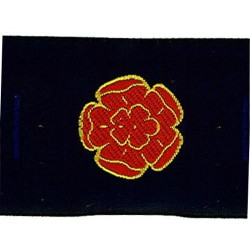 Lancashire Rose Ribbon Badge