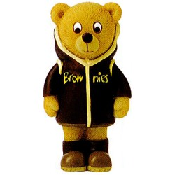 Brownie Rainy Day Resin Bear