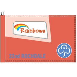 Rainbow Flags and Banner