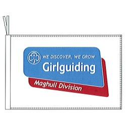Girlguiding Flag and Banner