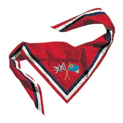 International Guide Embroidered Neckerchief