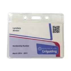 Guiding Membership Card Lanyard Pouch