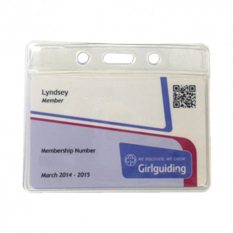 Guiding Membership Card Lanyard Pouch
