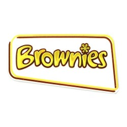 Brownie All Purpose Pin Badge