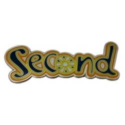 Brownie Second Pin Badge