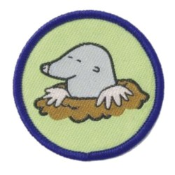 Brownie Six Badge - Mole