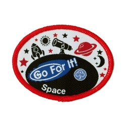 Guide Go For It!<br/>Space Woven Badge