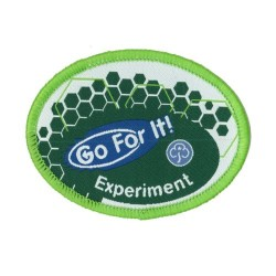 Guide Go For It!<br/> Experiment Woven Badge