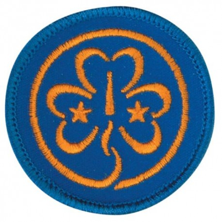 World Badge - Embroidered