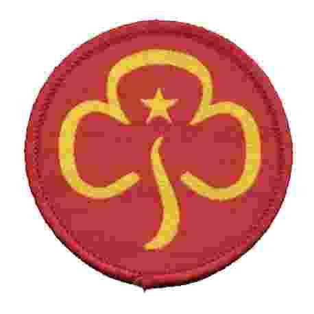 Trefoil Guild Woven Badge