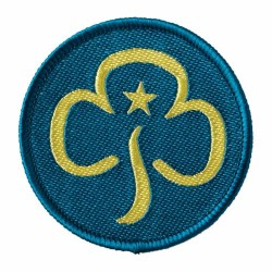 Senior Section Woven Section Badge