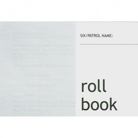 Patrol Roll Book