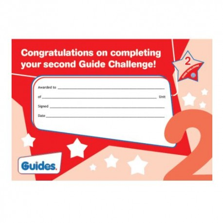 Guide Challenge 2 Certificate
