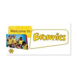 Welcome to Brownies Card