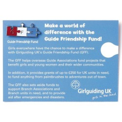 Guide Friendship Fund Badge - Metal