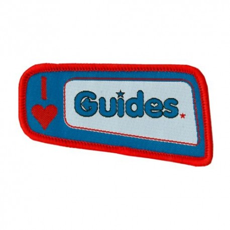 Guide I Love Guides Badge