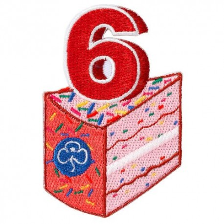 Happy 6th Birthday Badge