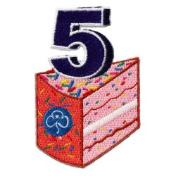 Happy 5th Birthday Badge