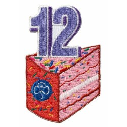 Happy 12th Birthday Badge