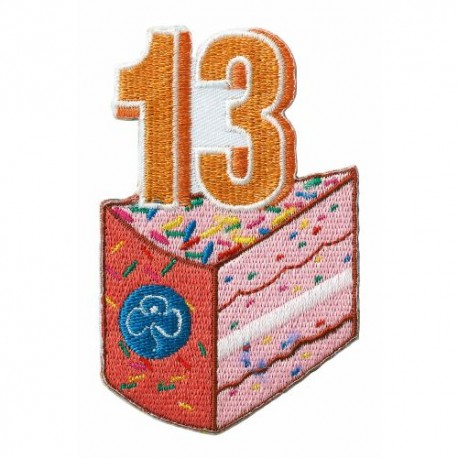 Happy 13th Birthday Badge