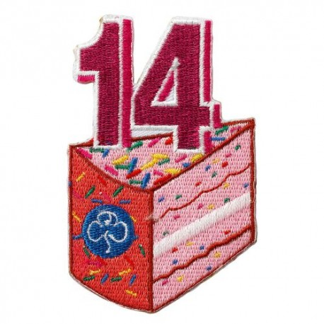 Happy 14th Birthday Badge