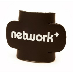 Network Logo Leather Woggle