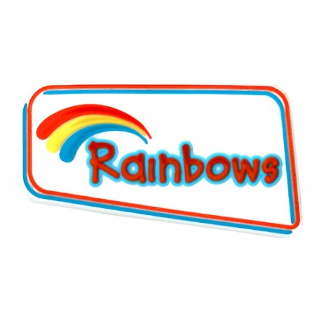 Rainbow All Purpose Pin Badge
