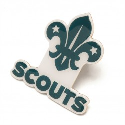 Scout Section Pin Badge