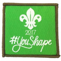You Shape 2017 Explorer Woven Badge