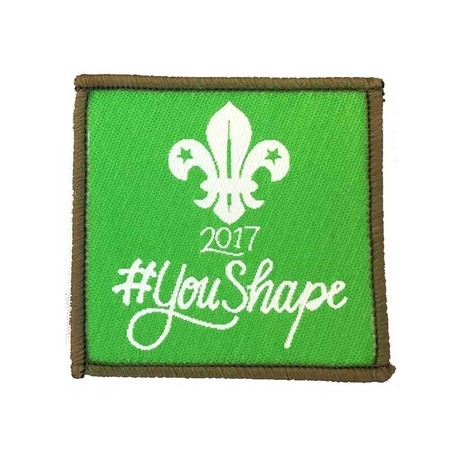 You Shape Explorer Woven Badge