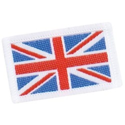 Union Flag Cloth Badge Small Embroidered (Uniform)