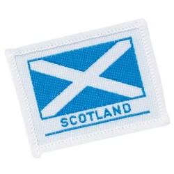 Scotland Emblem - Embroidered Badge Small