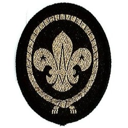 Sea Scout Cap Badge - Cloth