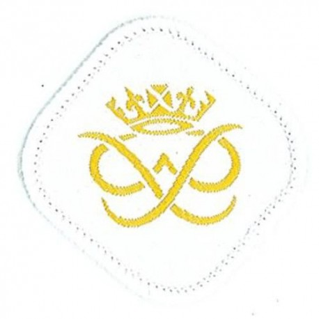 Duke of Edinburgh Award Cloth Badge - Gold