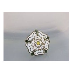 Yorkshire Rose Metal Badge