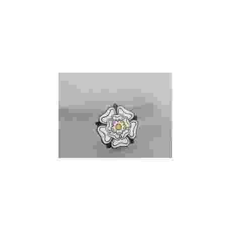 Yorkshire Rose Metal Badge
