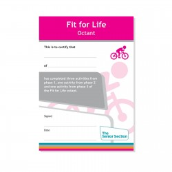 Senior Section Fit For Life Octant Certificate