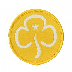 Brownie Woven Section Badge
