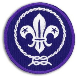 World Scout Embroidered Badge 13cm