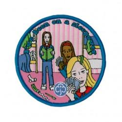 Guides Sleepover Fun Woven Badge