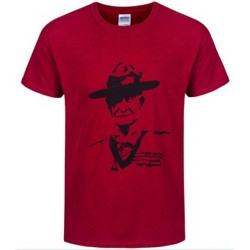 Ladies Scout Heritage Baden-Powell Print Adult T-Shirt