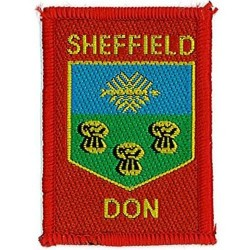 District Badge Sheffield -Don