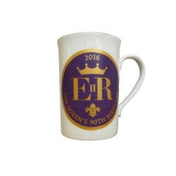 Queen's 90th Birthday Bone China Mug