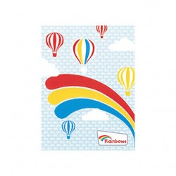 Rainbows arc cards (6pk)