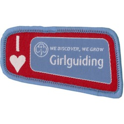 Senior Section I Love Girlguiding Badge