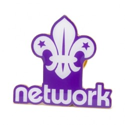 Network Section Pin Badge